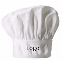 factory direct sale wholesale kitchen cooking custom logo chef hat