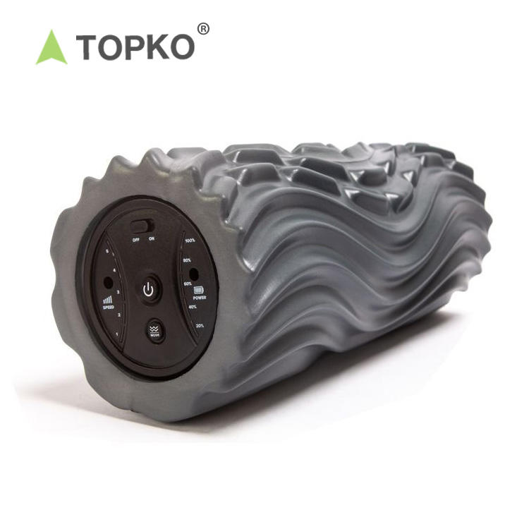 TOPKO EVA Gym electric yoga vibrating foam roller