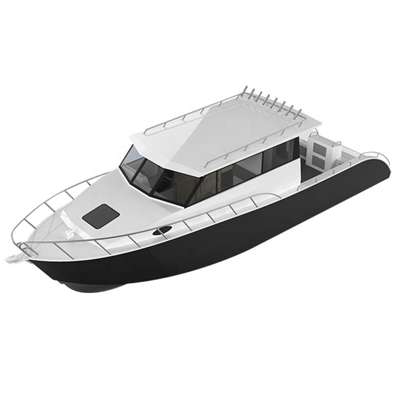 Gospel boat 30ft aluminium fishing boat lifestyle model