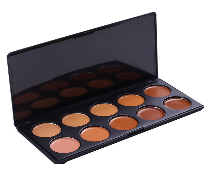 Pro exclusive contour kit 10 Color Face Cosmetic Concealer cream Make Up face magic cream correct Palette