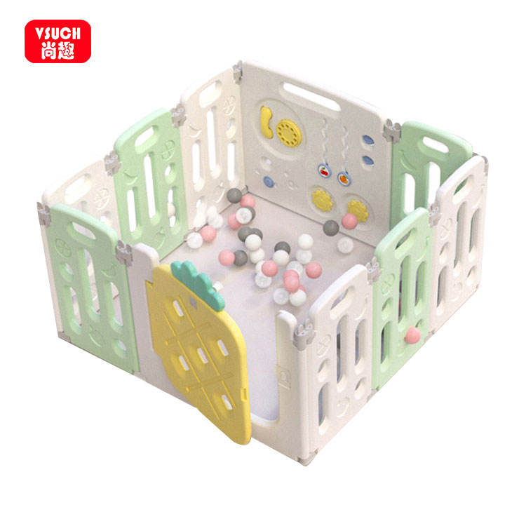 Baby playpen with gate kids cheap playpen play pen fence for baby play area