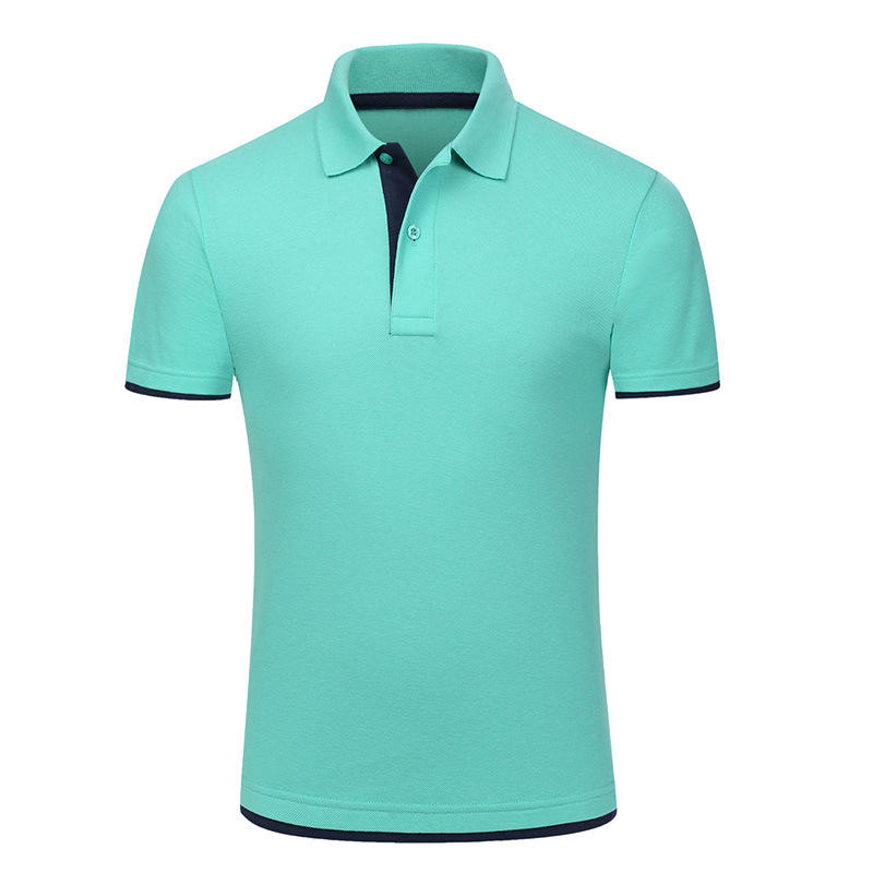 Soft touch custom oem blank casual sport short sleeve polo mens t shirt