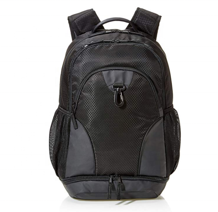 Daily sport backpack with shoes compartment
