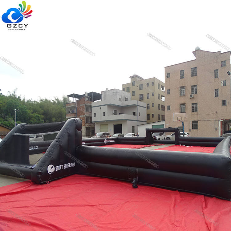 Inflatable Soccer bubble bumper ball Field/ soap football field inflatable soccer pitch