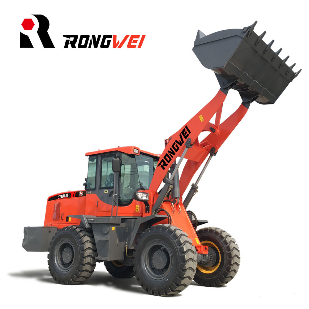 1.8cbm front end 3 ton wheel loader Rongwei ZL939E for earthmoving