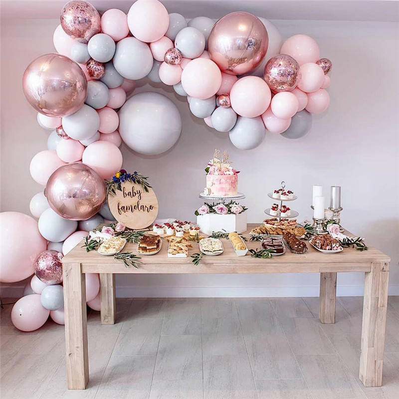 Amazon Hot Selling Baby Shower Wedding Party Decoratie Prinses Ballon Boog Kit