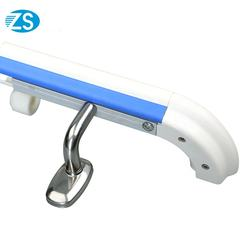 High quality galvanized pipe bus handrail for disabled by manufacturer