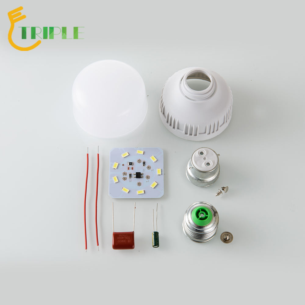High watt T shape 5w 9w 10w 13w 15w 18w led bulb raw material 12w 5 watt led bulb