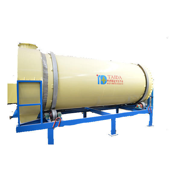 Triple Pass Three Drum Cylinder Rotary Drum Drying Machine For Slag Sand Clay Limestone