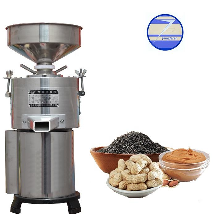 small home type sesame seeds paste grinder/tahini making machine /peanut butter grinder