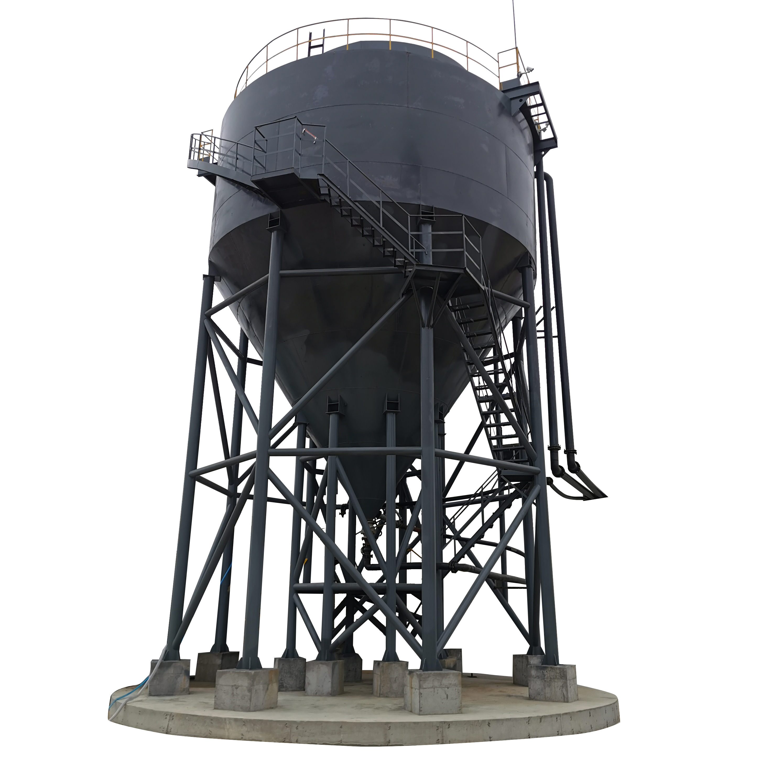 Efficient Deep Cone Thickener for Ore Pulp Dewatering
