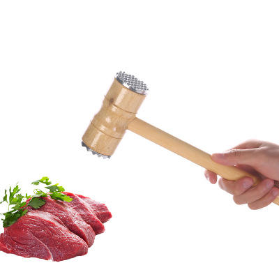 Loose Tenderizers Meat Hammer Two Sides Pounders Knock-sided For Steak Pork Kitchen Tools