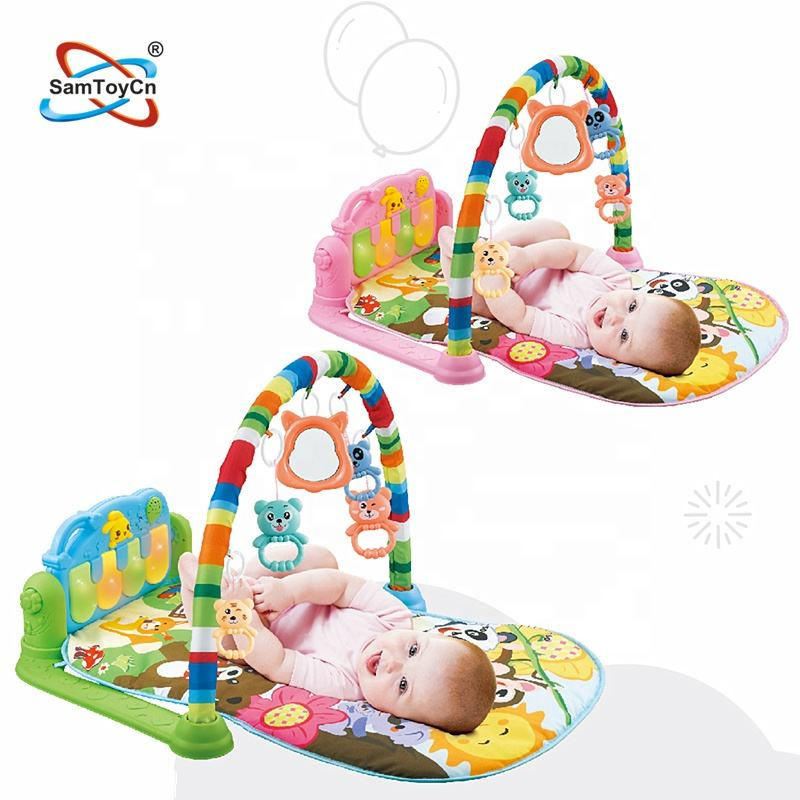 Juguetes Baratos De China Kind Fitness Deken Baby Speelkleed Met Pedaal Harpen