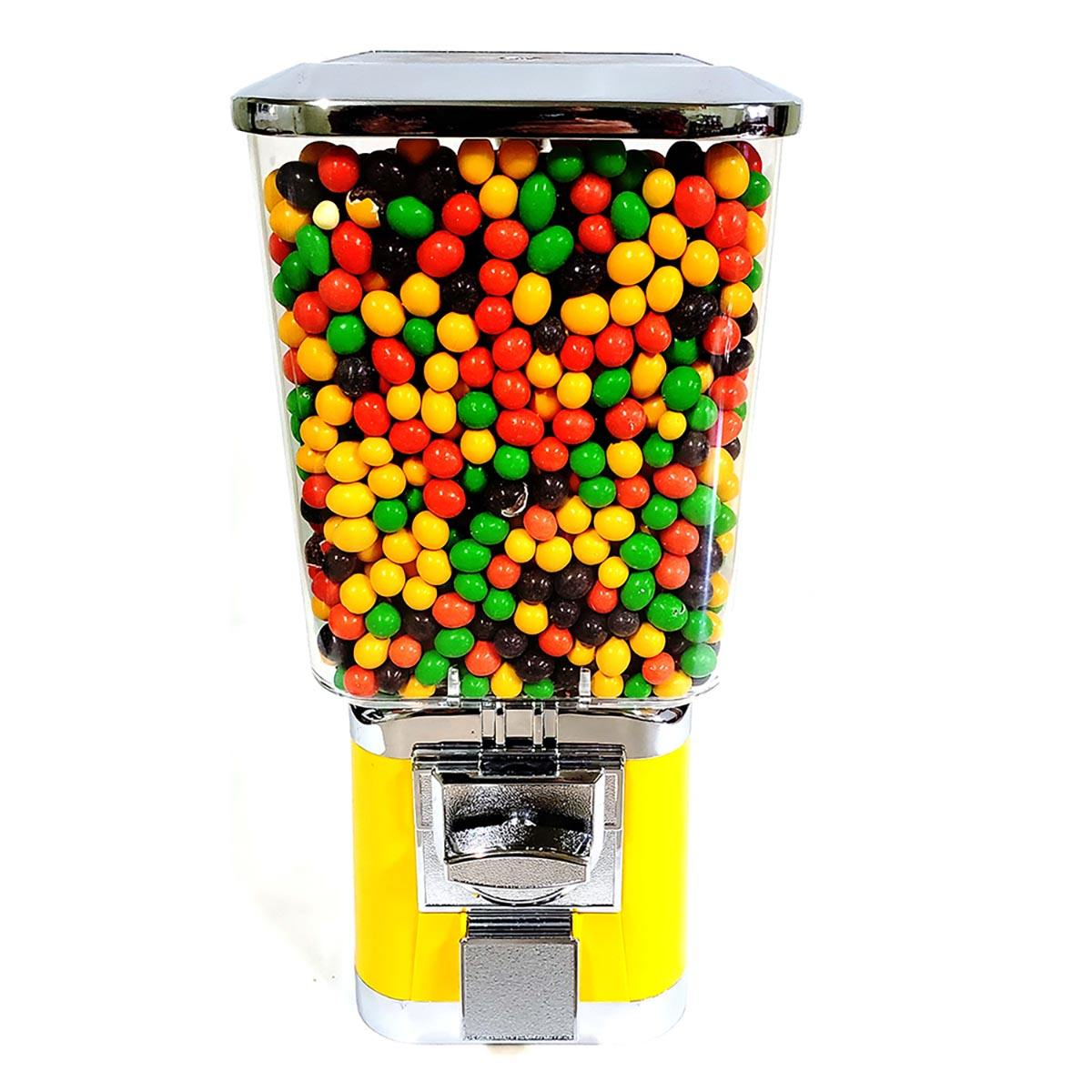 Jstory Vending's Candy Vending Machine Chrome Yellow