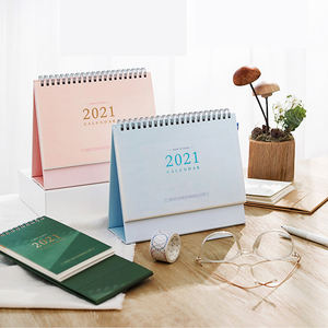 Custom 2021 Full Color Wall Yearly Monthly Calendar Printing China