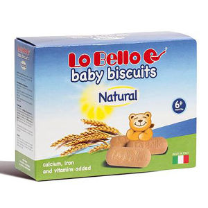 LO BELLO BÉBÉ BISCUITS NATUREL