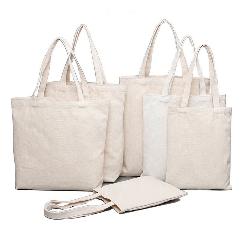 Custom Printed Eco Friendly Cotton Canvas Tote Bag,Reusable Grocery Shopping Tote Bag