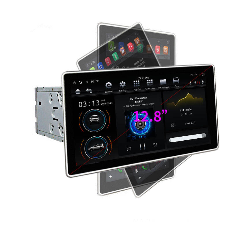 KLYDE KD-12501 Top sell Android 9.0 PX6 used machine car dvd player support voice control universal car radio