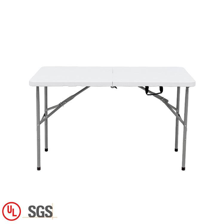 4FT раскладная кровать в два раза таблице Китай пластик металлический раскладной обеденный стол