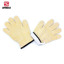 Oven frying smoker barbecue grilling baking cooking gloves extreme heat resistant indoor outdoor gloves for men and women