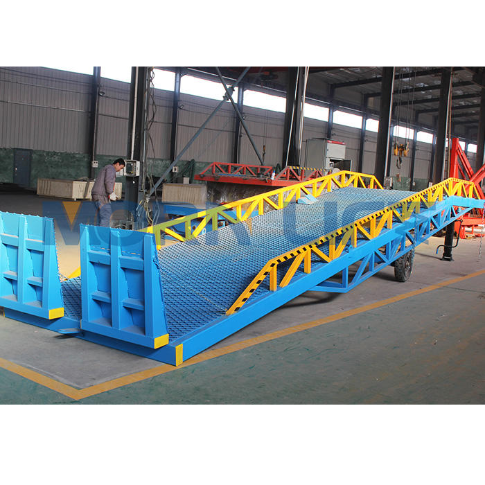 15ton CE ISO dock ramp approved truck loading ramp for sale