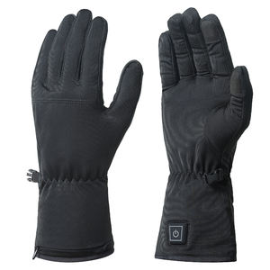 OEM Newest breathable waterproof Eco-friendly Material Heated Therapy Gloves with 7.4V rechargeable battery