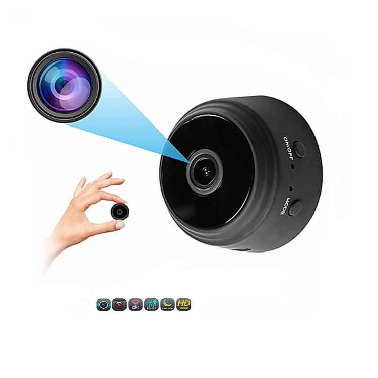 Wifi IP Mini Camera Wireless Infrared Camera Night Vision Motion Detection Mini DV Voice Video Recorder 1080P HD Camera