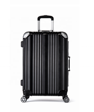 Wholesale quickly shipment removable wheels Aluminum hard shell PC trolley luggage suitcase