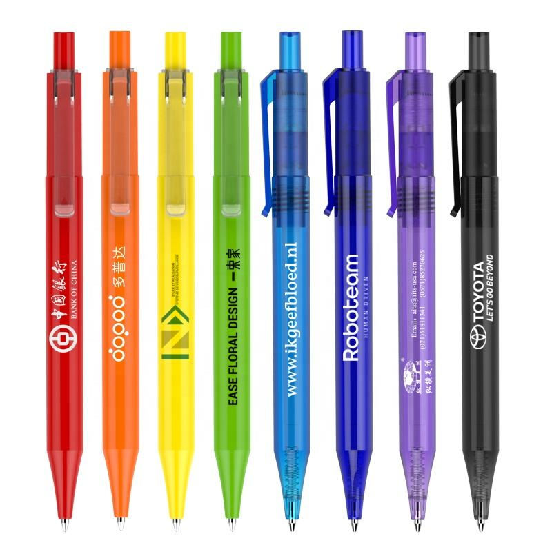 promotional best selling high quality stylo bille custom kugelschreiber gifts customized company logo pens ballpoint