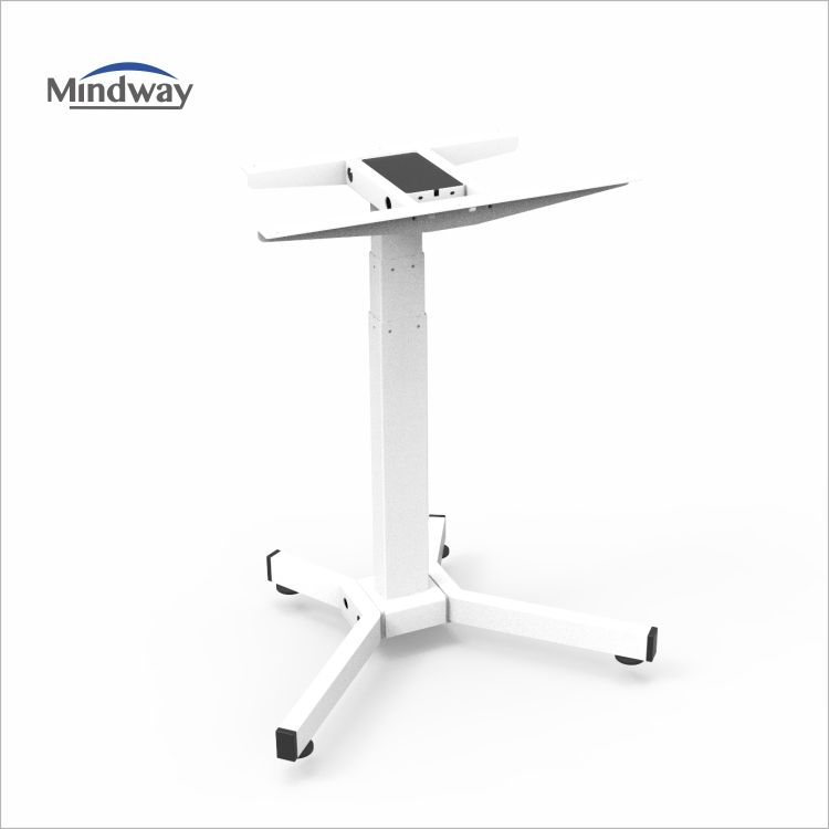 3 stage single motor electric height adjustable desk laptop adjustable table with 5 years warranty