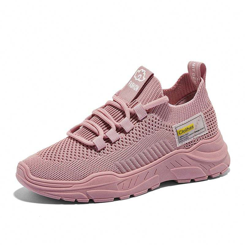 New style women jean shoes summer breathable lightweight pink elegant for women's shoes