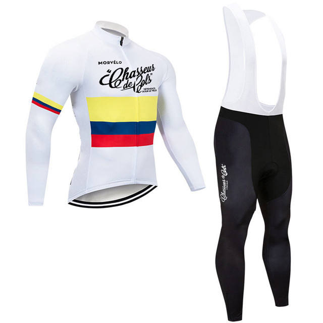 Fashion long sleeve bike clothes set /bicycle suit/cycling jersey for men and women