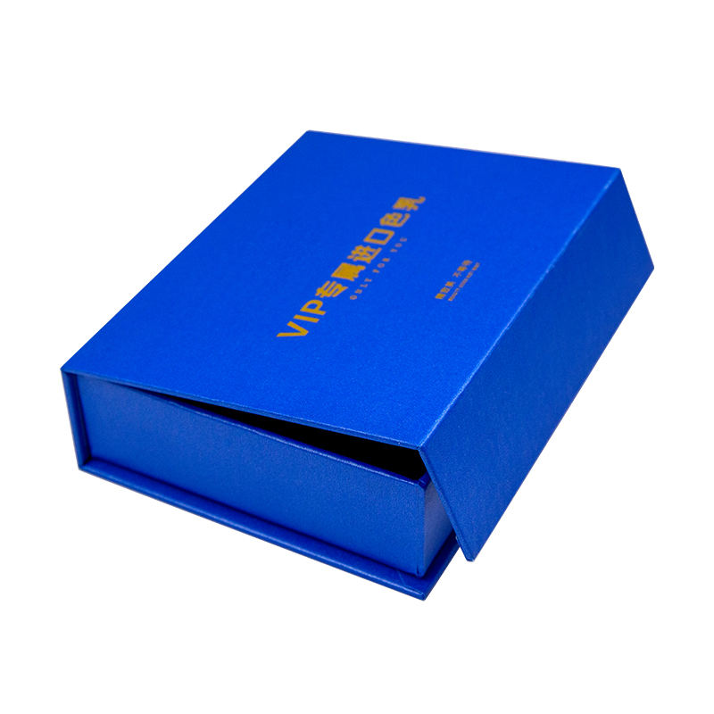 High Quality Wholesale Custom Logo Printing Blue Wholesale Gift Box Packaging Reasonable Price