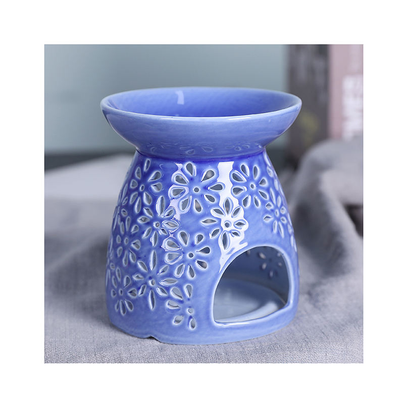 High Quality Ceramic candle holder oil Incense Aroma Diffuser Multifunctional Durable Furnace Decoration Candle Wax Warmer