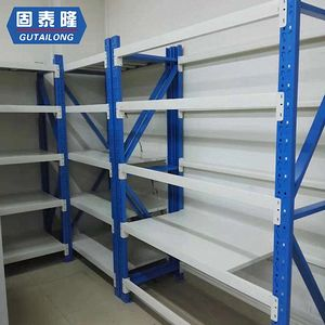 High quality light duty racks adjustable shelving storage rack shelves iron display shelf