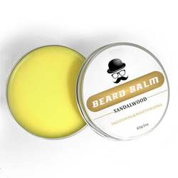 Professional Beard Care Products Natural Men Beard Balm