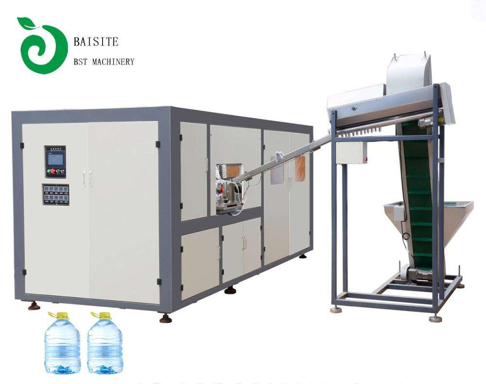 Automatic 5L PET Water Bottle Blow Molding / Moulding Machine for Mineral Water