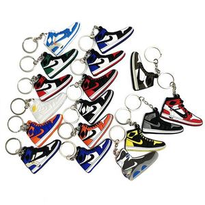 Wholesale Custom Jordan Design Keyring Key Chain Ring Sneaker 350 V2 3d Yeezy Boosted Shoe Keychain Custom Sneaker Keychain