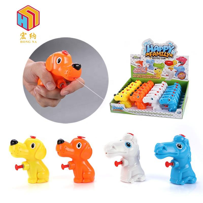 Wholesale store largess mini water gun candy toy for children