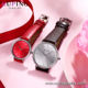 Watch-5 Xuping men fashion accessories leather quartz wrist watch Customizes Valentine's Day men's watch