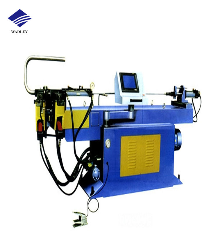 DW50NC Semi Automatic Single Head Hydraulic CNC Pipe Bending Machine for Tubes