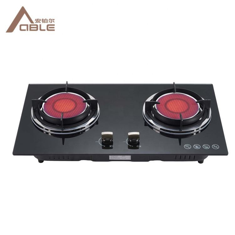 ABLE High Quality Electric Infrared Stove Double Burner Infrared Gas Stove