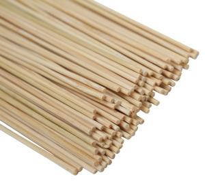 Wholesale disposable bbq skewer stick round bamboo sticks