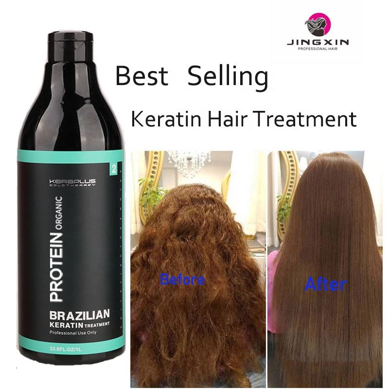 GMPC100% High Quality private label protein natural brazilian keratin hair treatment oil hair care products for damaged hair