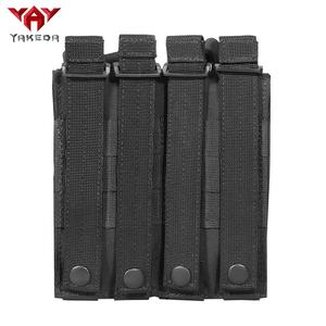 Yakeda other police molle double bag black hunting military AK AR mag pouch tactical for men