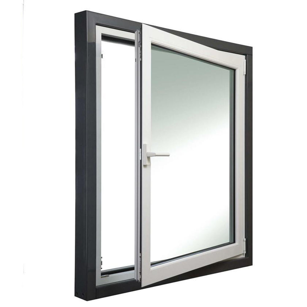Aluminum Thermal break Low-E glass window reflective glass aluminum window and door