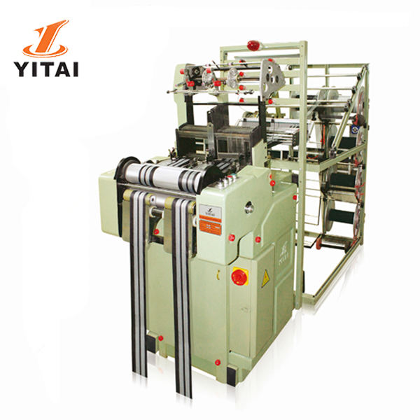 Yitai Woven Elastic Non Elastic Waistband Twill Trimmings Satin Ribbon Bedding Mattress Tapes Needle Loom Machine