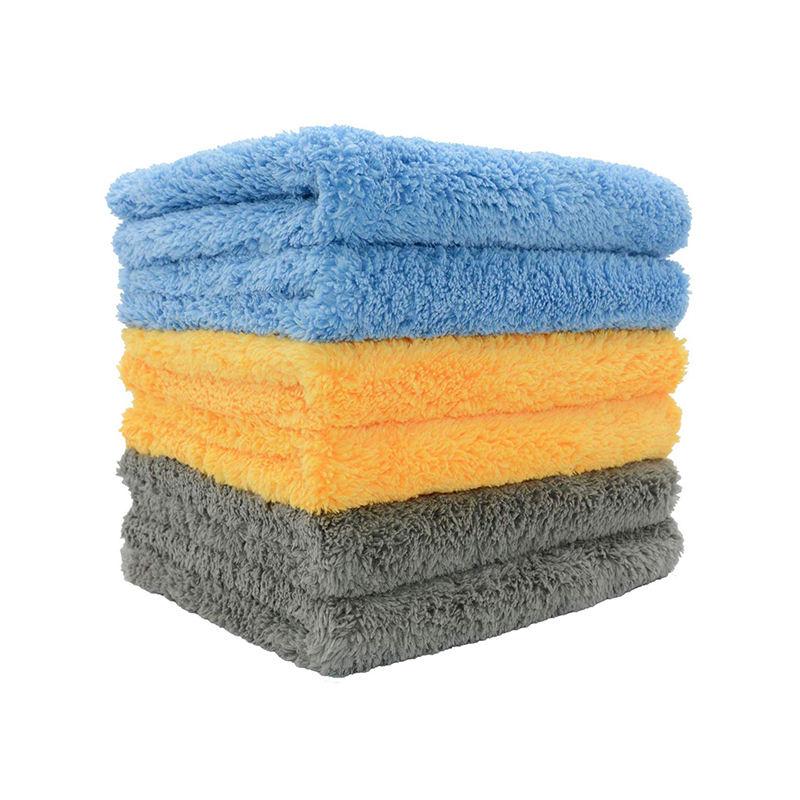 Toalla De Microfibra Para Limpieza Del Coche Detalle De Tela De Secado De Lavado 60*160cm Azul Hot