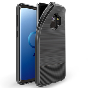 Untuk Xiaomi Bermain Pocophone F1 Redmi Note 7 Mobile Aksesoris Shockproof Carbon Fiber TPU Cell Phone Case