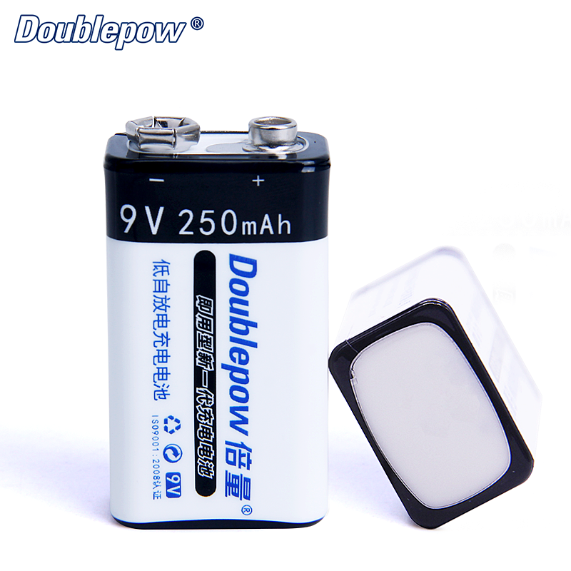 NiMH Rechargeable Battery 9V 250mAh for Smog Detector